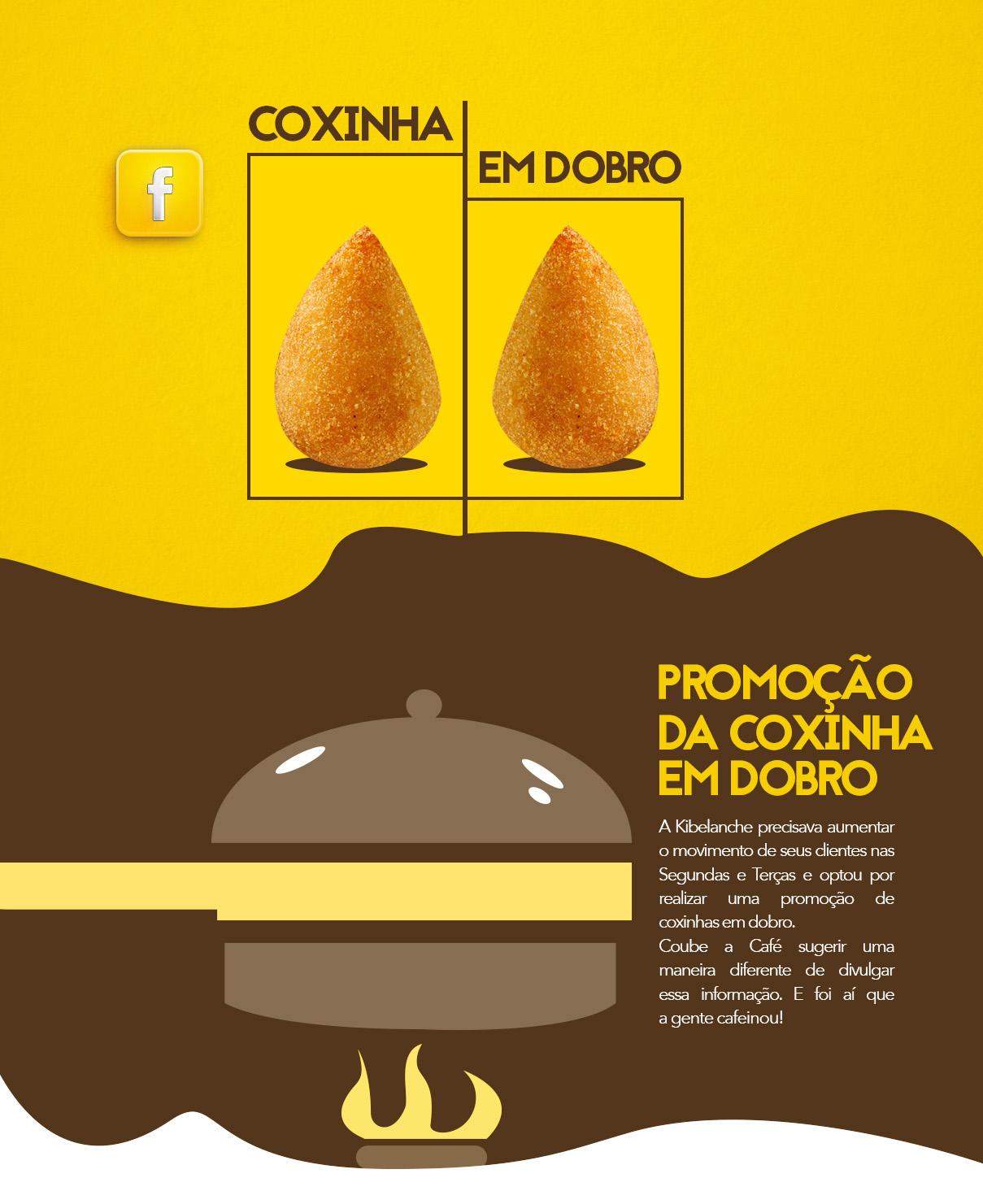 COXINHA EM DOBRO
